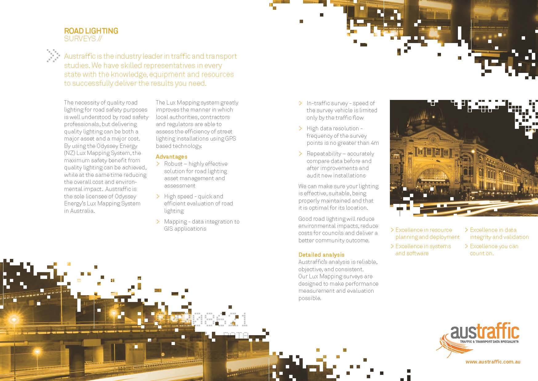 Street Road Lighting Lux Mapping Brochure download